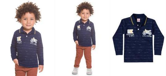1fc90676ad Camisa Infantil Masculina - Compre Online