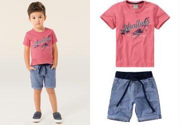Conjunto Infantil Masculino - Compre Online  40211d7f81499