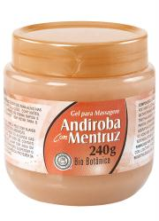 Gel para Massagem Andiroba com Mentruz 240g