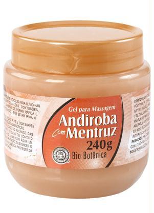 Gel para Massagem Andiroba com Mentruz (240g)