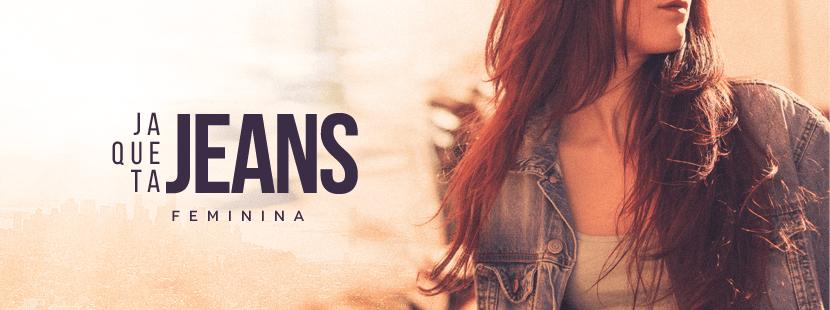 Jaquetas Jeans Feminina