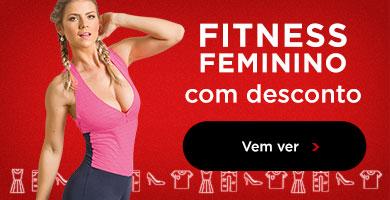 Fitness feminino com desconto