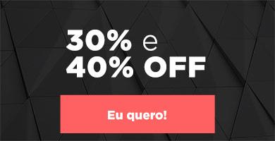 30 a 40% off