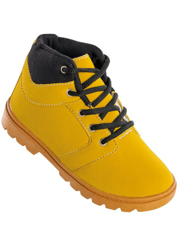 Perfecta - Bota Infantil Amarela