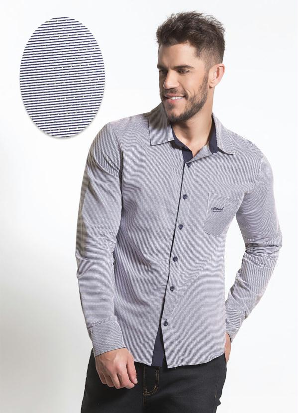 Kit 3 Camisas Social Slim Fit Masculina Atacado Barata Longa