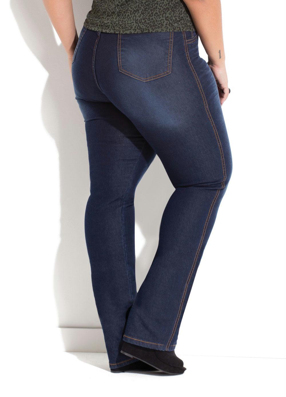 d8156ac23 Calça Jeans Quintess Plus Size - Quintess