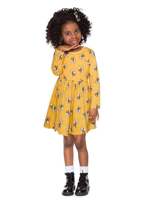Milon - Vestido Amarelo