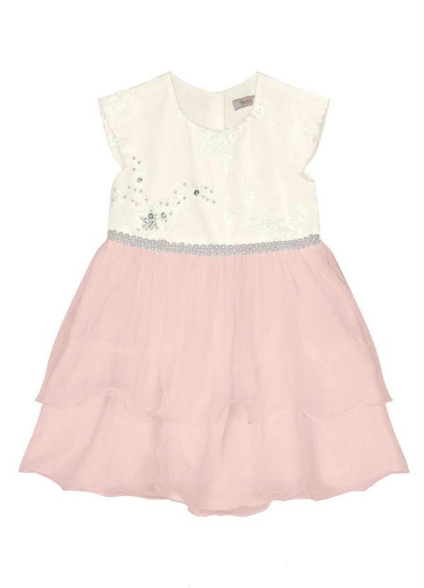 Trick Nick - Vestido Infantil Menina Rosa