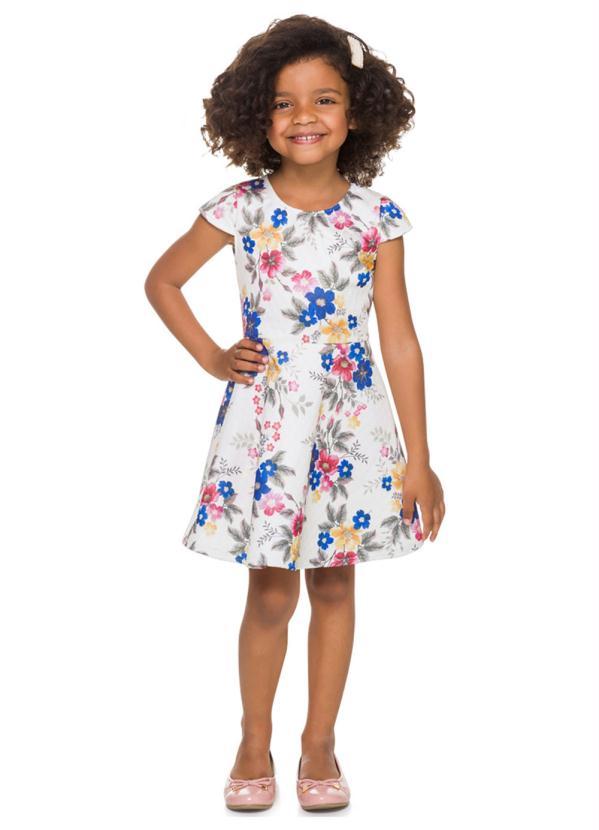 Milon - Vestido Infantil Off White