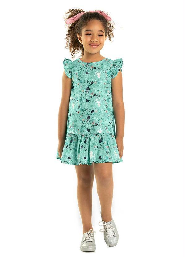Rovitex Kids - Vestido Rovitex Kids Verde