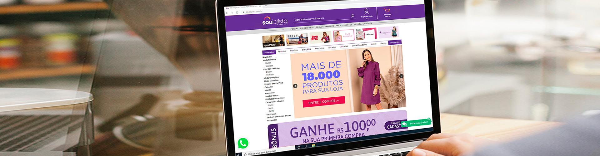 Banner Sou Lojista Desktop
