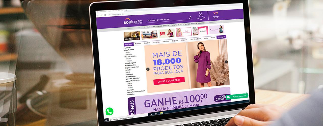 Banner Sou Lojista Mobile