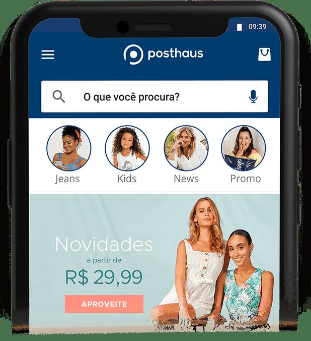 Smartphones App Posthaus